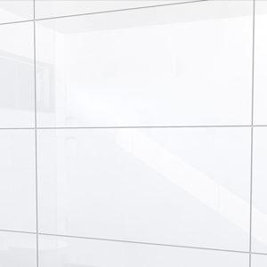 Glans witte 30x60 wandtegels gerectificeerd