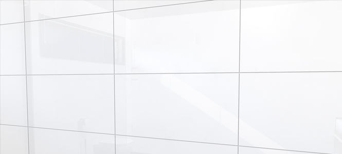 Wandtegels Glans wit 30×60 Gerectificeerd. Mooie strakke tegels.Voor ...